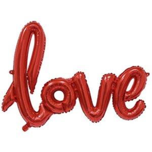 Надпись прописью Love Красный