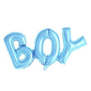 Надпись Boy Голубой