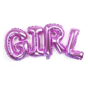 Надпись Girl Розовый