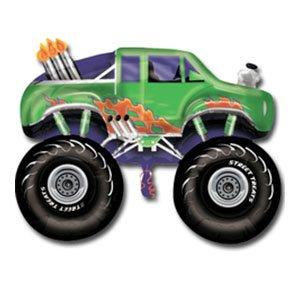Фигура Джип монстр, зеленый
