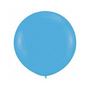 Шар без рисунка Голубой пастель 36