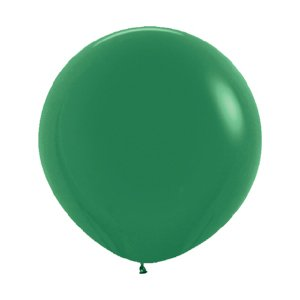 Шар без рисунка Зеленый пастель 36