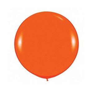 Шар без рисунка Оранжевый пастель 36