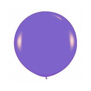 Шар без рисунка Фиолетовый пастель 36