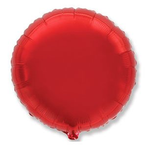 Шар круг красный