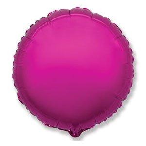 Шар круг лиловый