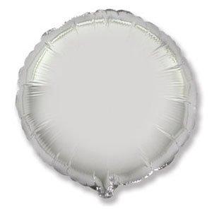 Шар круг серебро
