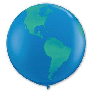 Шар с рисунком Земной шар