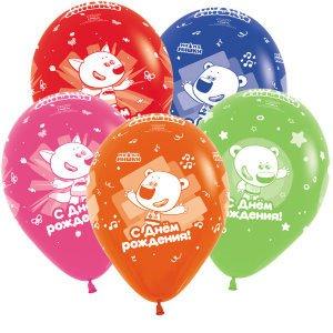 Шар с рисунком Ми-ми-мишки с днем рождения