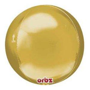 Шар 3D Сфера металлик Gold (золото)