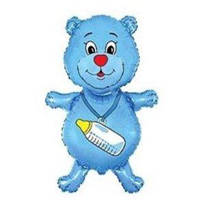Фигура Медвежонок мальчик (синий)