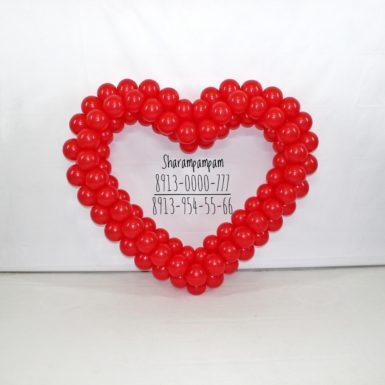 Фигура Сердце красное