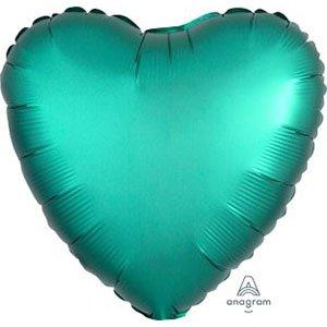 шар сердце сатин нефрит satin luxe Jade