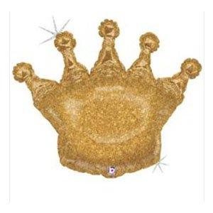 Фигура Корона золотая голография