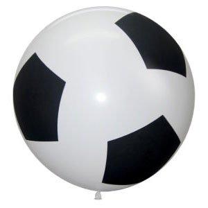 Шар с рисунком Футбольный мяч 36