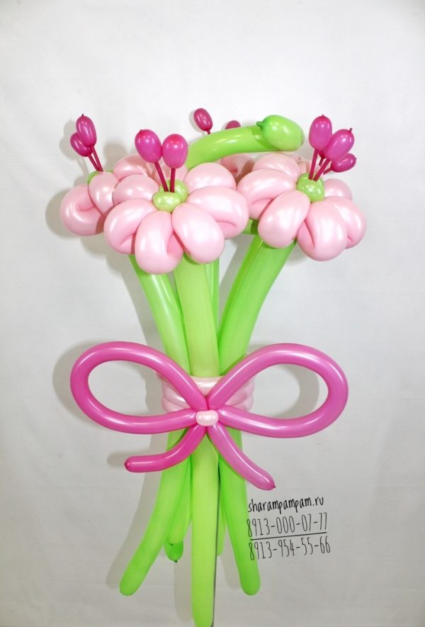 Букет нежных цветов