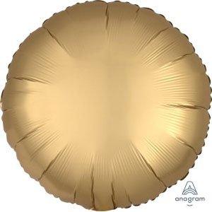 шар круг сатин золото satin luxe gold sateen