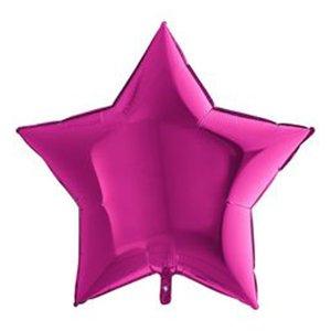 Шар Звезда Маджента (Фуксия) 36