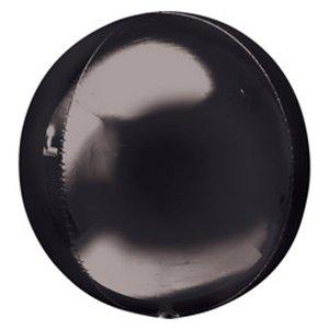 Шар 3D Сфера черный