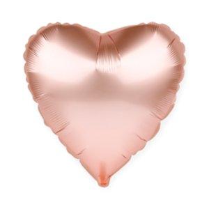 Шар Сердце, Розовое золото