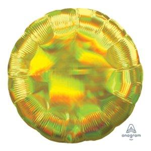 Шар круг Жёлтый Перламутр