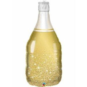 Фигура Бутылка шампанского золотая