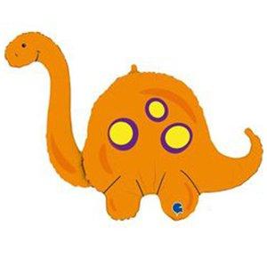 Фигура Оранжевый Бронтозавр