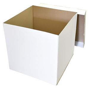 Коробка для шаров (белая) 70 70 90 см.