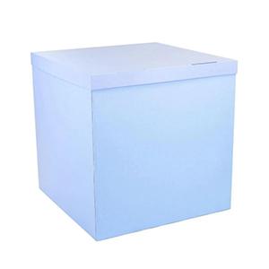Коробка для шаров (голубая) 60 60 60 см