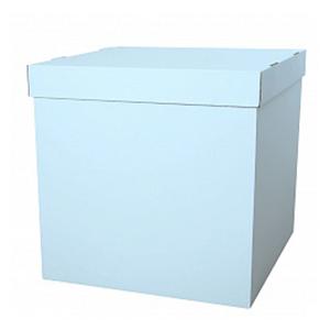 Коробка для шаров (голубая) 60 80 80 см.