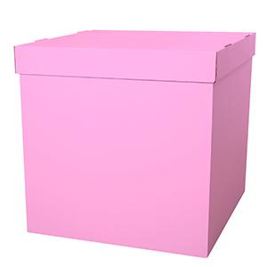 Коробка для шаров (розовая) 60 80 80 см.