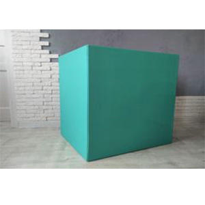 Коробка для шаров (бирюзовая) 60 80 80 см