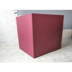 Коробка для шаров (бордовая) 60 80 80 см