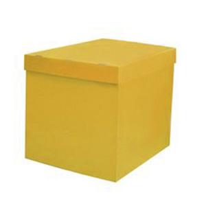 Коробка для шаров (желтая) 60 80 80 см