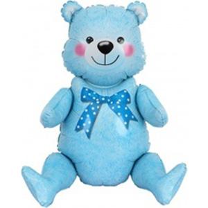 Фигура Сидячий мишка, Голубой