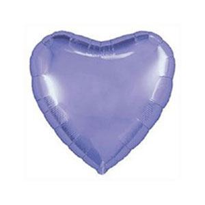 Шар сердце большое Lavender