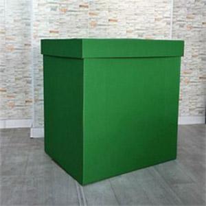 Коробка для шаров (Зеленая) 60 60 60 см