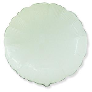 Шар круг большой Белый