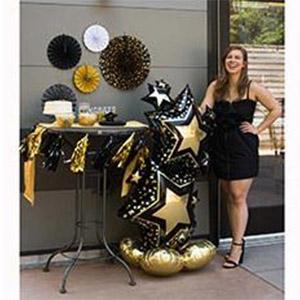 Напольная фигура Звезды Black&Gold пример