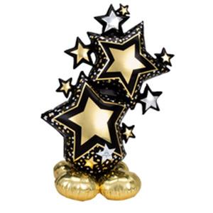 Напольная фигура Звезды Black&Gold