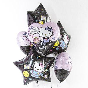Шар сердце С Днем Рождения! Hello Kitty1