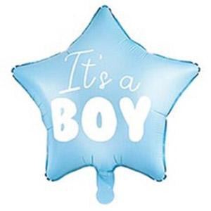 Шар звезда It's a boy (Это мальчик)