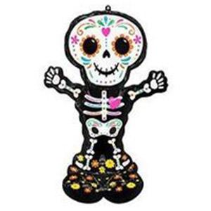 Напольная фигура Скелет День Мертвых